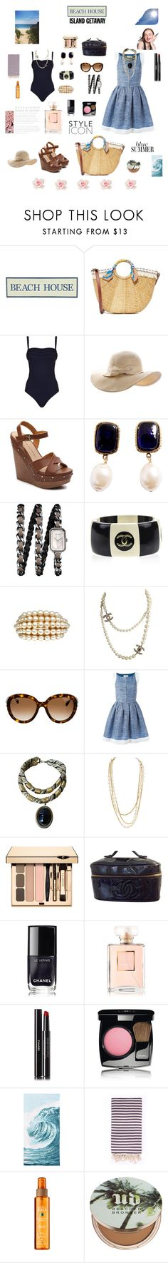 """Chic Island"" by alexandra-rataplan ❤ liked on Polyvore featuring Pier 1 Imports, Sam Edelman, SHAN, Chinese Laundry, Chanel, PBteen, Turkish-T and Urban Decay"