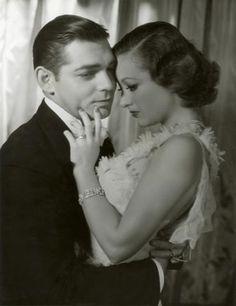Clark Gable e Joan Crawford