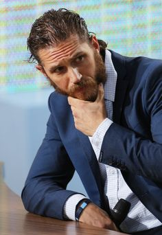 Tom Hardy, beard and all. ESPECIALLY the beard.