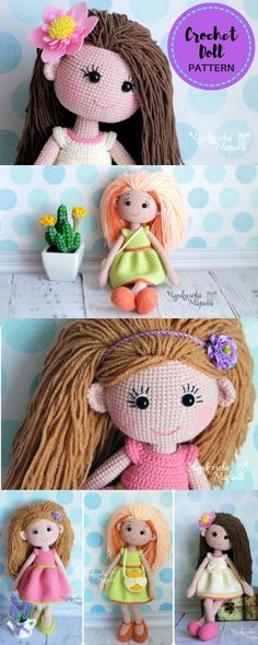 What a beautiful crochet pattern and name for a doll. Love her! PATTERN Mirra the doll crochet pattern | Crochet Doll | Amigurumi | Crochet Toys | Crochet Pattern | #ad #amigurumi #crochetpattern #amigurumipattern #amigurumidoll