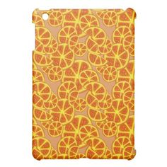 Orange Slices Pattern Cover For The iPad Mini