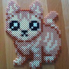 Marmalade Kitty hama beads by laboiteacreas Iconosquare