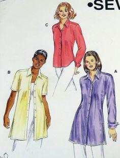 Kwik Sew Uncut Pattern 3027 Misses Shirts by BlueRidgeBirdHouses, $6.00