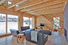 Дървените сглобяеми домове от Хонка са модерни дървени къщи, построени по вековни скандинавски традиции.