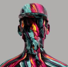 PORTRAITS 2.0 is the second personal project displaying abstract and surreal characters.