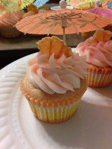 Celebrate Cinco de Mayo with Tequila Sunrise Cupcakes by Booze, Sugar & Spice