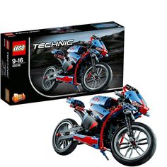 Lego Technic: Street Motorcycle (42036) Manufacturer: LEGO Enarxis Code: 014790 #toys #Lego #technic #motorcycle