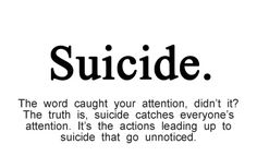 Suicide and selfishness are thought to go together. But mental illness lies to people, making them think suicide is an option. Suicide isn't selfish. Read this.
