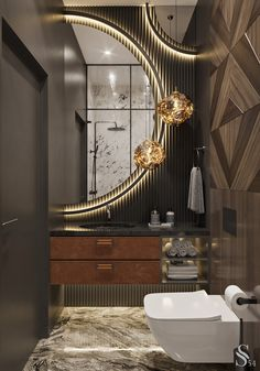 Washroom Design, Bathroom Design Luxury, Modern Bathroom Design, Wc Design, Toilet Design, Home Room Design, Interior Design Living Room, Concours Design, Bathroom Inspiration
