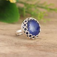 OOAK Lapis Lazuli ring Artisan