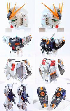 Custom Build: MG 1/100 RX-93 nu Gundam Ver. Ka W Fin Funnel - Gundam Kits Collection News and Reviews