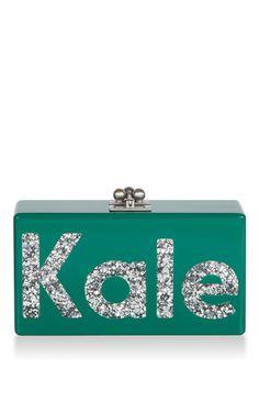Edie Parker Kale Clutch