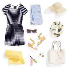 Get ready to sail away—it's almost May! Prep for sun & sand with 3 boardwalk-inspired looks. - love this dress!!!!!!! CE
