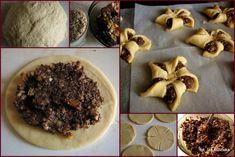 ciastka, wiatraczki, mak, masa makowa, słodycze domowe, smaczna pyza, blog kulinarny, domowe wypieki, pieczenie, kulinaria