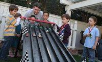 Everyday Life as the Star Family: Trevor's 5th Race Car/Hotwheel Birthday Party