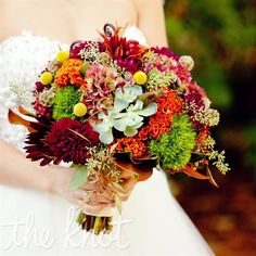Colorful Autumn Bouquet