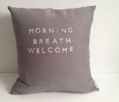 Morning Breath Pillow