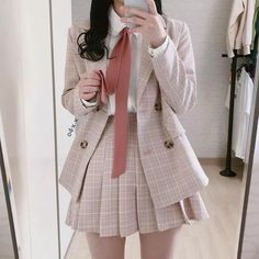 Fashion Outfits For School Uniform - Fashion Hipster Outfits, Mode Outfits, Stylish Outfits, Girl Outfits, Fashion Outfits, Modest Fashion, Fashion Boots, Fashion Tips, Kawaii Fashion