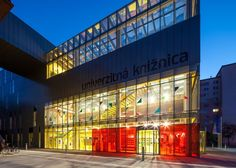 Welcome to the colorful world of #libraries! Here: A library of the Ruzomberok University, Slovakia