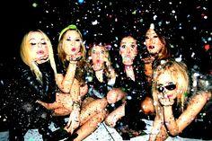 Friends Glitter Confetti Fashion Los Angeles Birthday