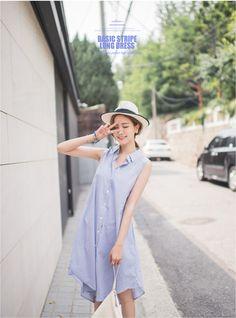 Summer shirt dress