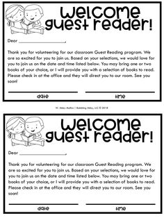 Setting Up a Guest Reader Program in Your Classroom