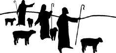 silhouettes shapes and shepherd - Google zoeken