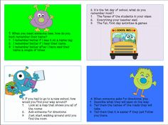 "Have fun teaching study skills using a monster themed lesson. Mon""STAR"" students have fun taking a Learning Styles quiz and playing a Mix it Up game to learn tips for different learning styles."