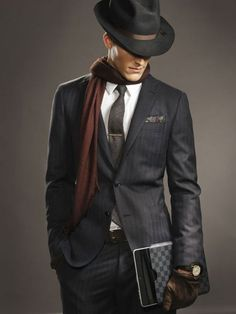 so put together!  fedora borsalino chapeu modelo