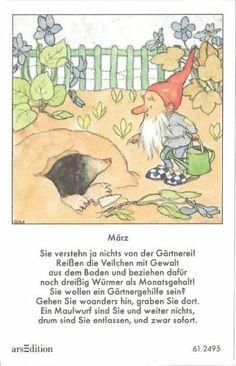 Fleißbildchen Original IDA Bohatta  MÄRZ