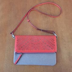 •Stella & Dot• Waverly Perf Crossbody Bag Orange! Brand new never used!!! Cheaper price and shipping on merc!!! Stella & Dot Bags Crossbody Bags