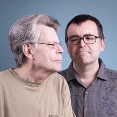 #stephenking and #owenking Promo picture for the french release of Sleeping Beauties