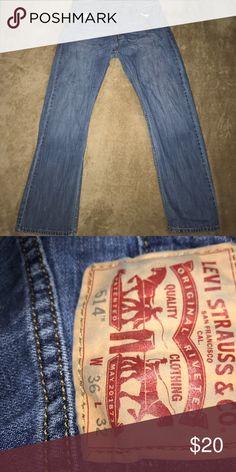 ❗️Levi Strauss 514 Jeans 36x32 Levi's Jeans Straight