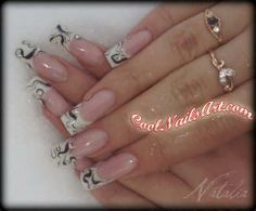 How to create Marble Nail Art Design