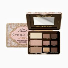 80dda10c37e New Too Faced Natural Eyes Palette- can't wait to play with my new · Best  Eyeshadow ...