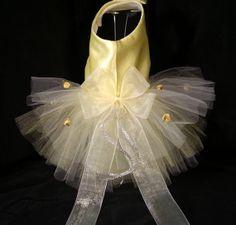 Bridesmaid! Dog Dress, TuTu, Harness, Dog Clothes, Pet Apparel. on Etsy, $35.00