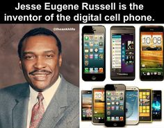 Jesse Russell played a key role in the invention of the digital cell phone. We should know more about this!