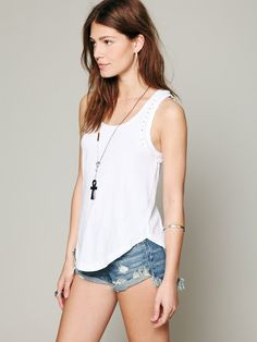 Free People We The Free Witch Craft Tank at Free People Clothing Boutique