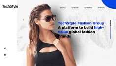 TechStyles site redesign uses modern design striking photography and a bold color to position the brand as an innovative technology company that is in...