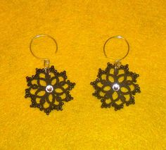 Tatted earring pattern - requires intatters account