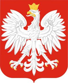 Proud Polish White Eagle. Polish national emblem for the last 1000 years. It is recognizable all over the world. Poles wear it with pride. I AM POLONIA decal of the White eagle on a red shield. You can place it on your laptop, bumper or any smooth.