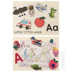 Letter of the week {At brees preschool this week they are learning the letter A. So I thought I would reinforce what she learned. I printed out some pictures that start with the letter A and laminated them for her to play with and us to talk about. 🐊 Then we found objects that started with A and put them by her coloring page that's all about A! (Princesses names are Areal and Aurora in case you were confused😂) And of course to top it all off we ate apples and peanut butter!🙌🏼🍎}…