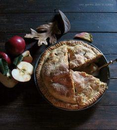 Apple-Toffee Pie   une gamine dans la cuisine