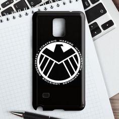 Retro Marvel S.H.I.E.L.D Logo Samsung Galaxy Note 5 Case   casefantasy