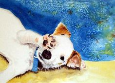 Jack Russell Terrier by yvonnecarter on Etsy, $18.95