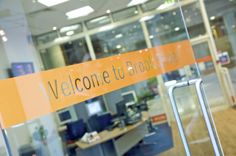 Manifestation - an opportunity to reinforce your brand Glass Office Partitions, Opportunity