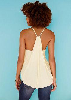 Drape Back Tank - Vacation Essentials - Clothing - Alloy Apparel