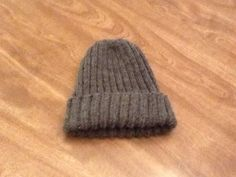 How To Knit A Men's Hat Free And Easy Pattern