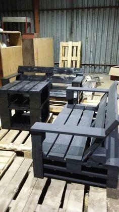 Комплект мебели из поддонов