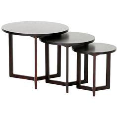 3 Piece Hess Nesting Table Set